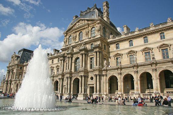 L'ombre d'un doute - Le Louvre, palais du pouvoir. Abed-franck4